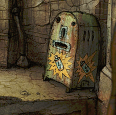 machinarium vending machine