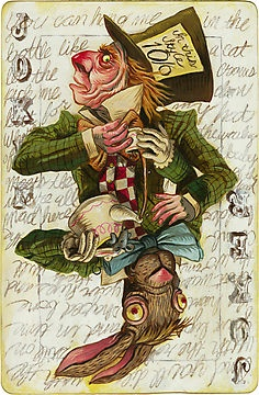 Mad Hatter Joker seen on Red Bubble
