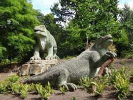 Crystal Palace Dinosaurs, also known as Dinosaur Court