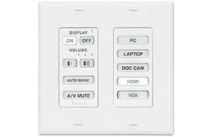 MediaLink Plus Controller - Decora Wallplate (MLC Plus 84 D)-visualtech