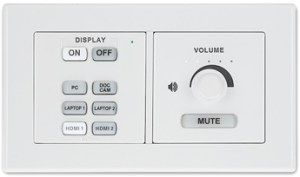 MediaLink Plus Controller - MK Wallplate (MLC Plus 84 MK)-visualtech