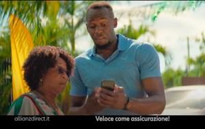 Usain Bolt testimonial Alliance Direct Italia