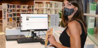 Biblioteca all'aeroporto di Cagliari