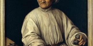 Fede Galizia ritratto di Paolo Morigia,Pinacoteca Ambrosiana di MIlano