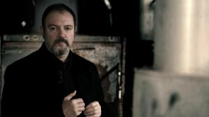 Lo scrittore Carlo Lucarelli