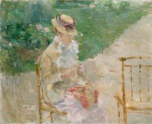 Morisot_Young_Woman_Knitting_besser_LAC_240x300mm