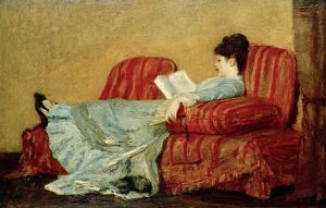Mary Cassatt Young Lady Reading 1878 Oil on wood 40.3 x63.2cmCollection of Diane B:Wilsey, Photo©2021 Christie's London/Scala Florence