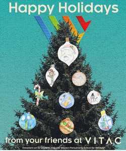 VITAC holiday card