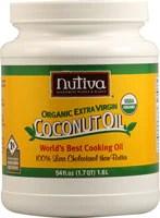 Nutiva Certified Organic Extra Virgin Coconut Oil