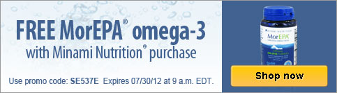 Free MorEPA omega-3 with purchase