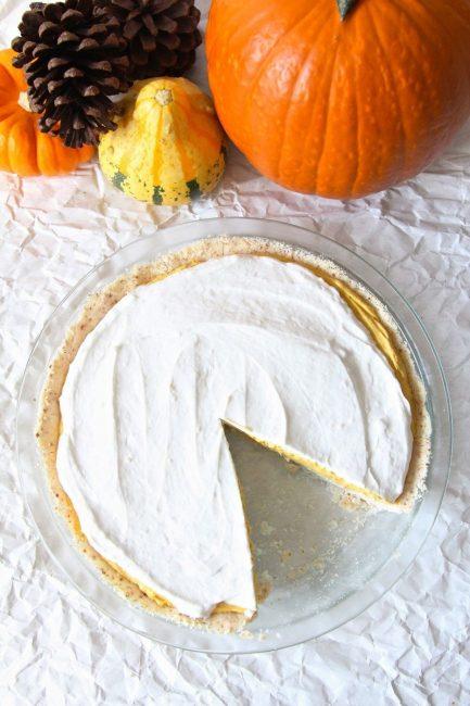 Pumpkin Cream Pie | Vitacost.com/blog