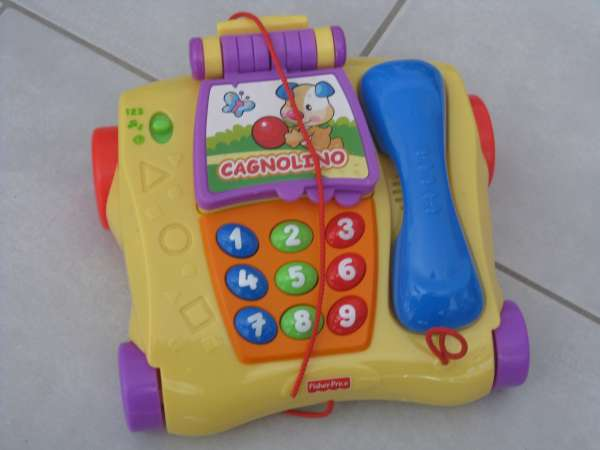 telefono fisher price gioco bambini