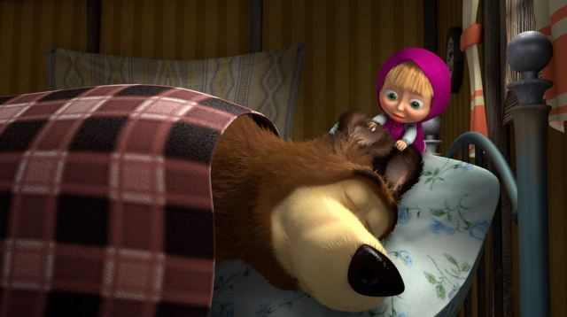 masha e orso scherzo