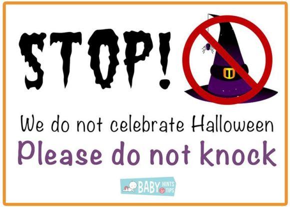 stop halloween