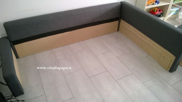 struttura divano