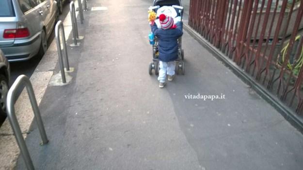 gnappo passeggino