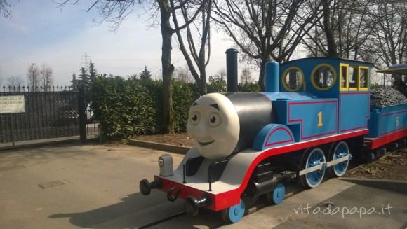 Il trenino Thomas a Leolandia
