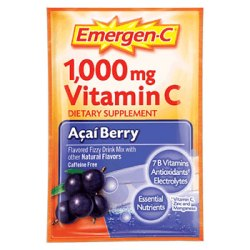 Emergen-C Acai Berry, 30 Packets, Alacer Emer'gen-C