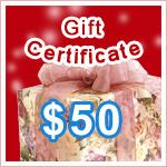Gift Certificate $50 @ VitaSprings.com