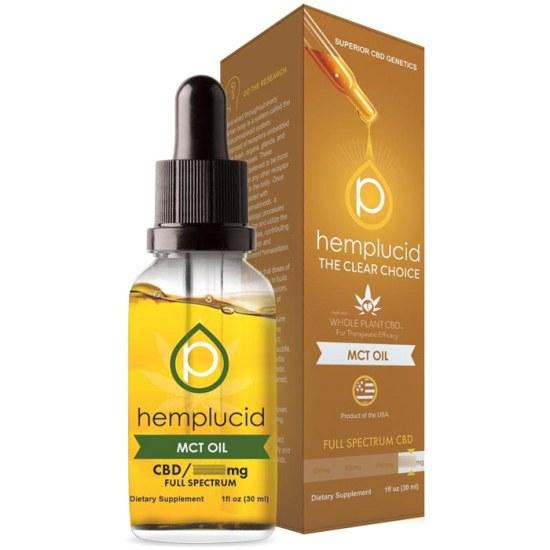 MCT Oil CBD 500 mg, 30 ml, Hemplucid