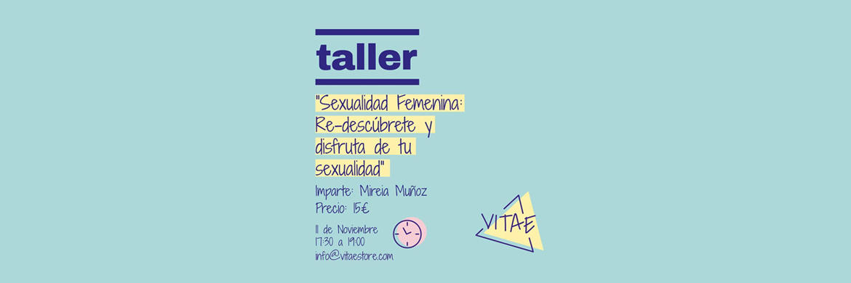 Taller de sexualidad femenina