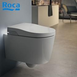 toilette lavante in wash inspira suspendue blanc roca a803060001