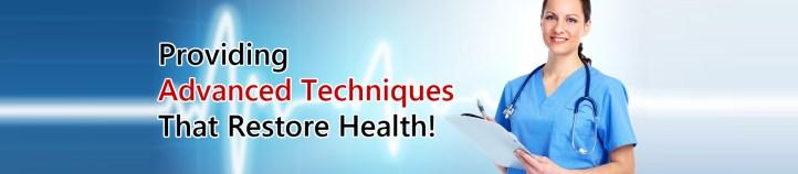 Providing Advanced Techniques That Restore Health!
