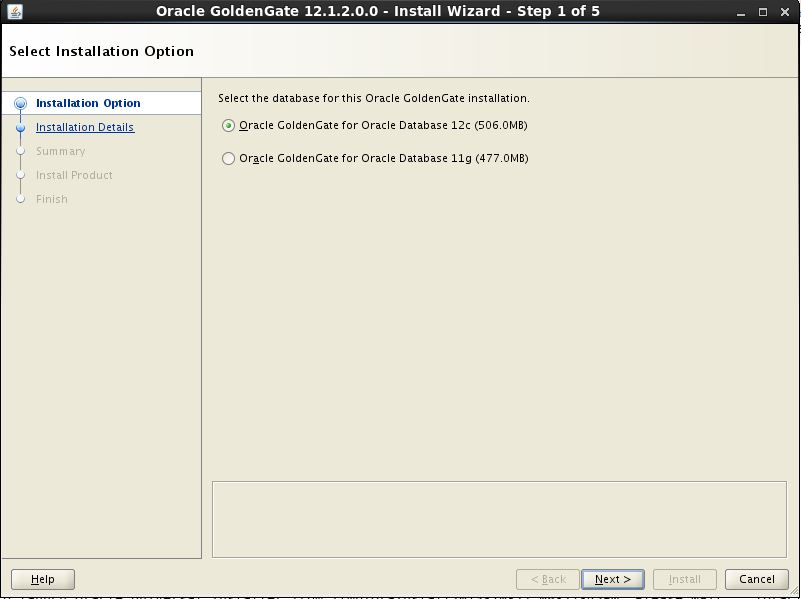 Oracle GoldenGate 12c Using Universal Installer1