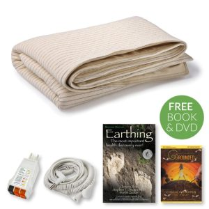 earthing, grounding, blanket, earthing blanket, earthing throw