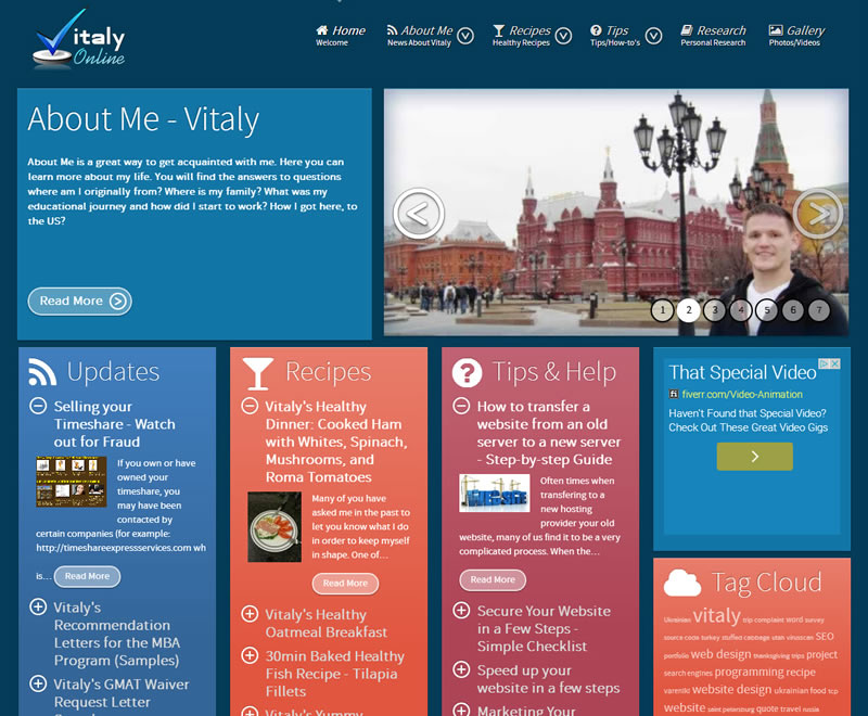 Website Design Complete – www.VitalyOnline.com