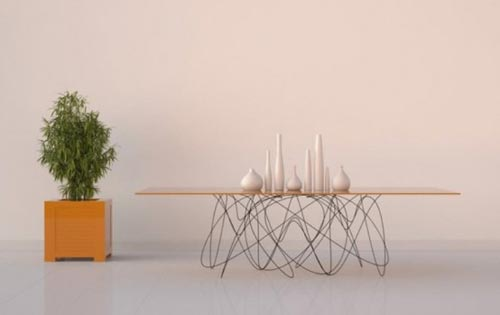 Необычные дизайнерские столы (10 фото)