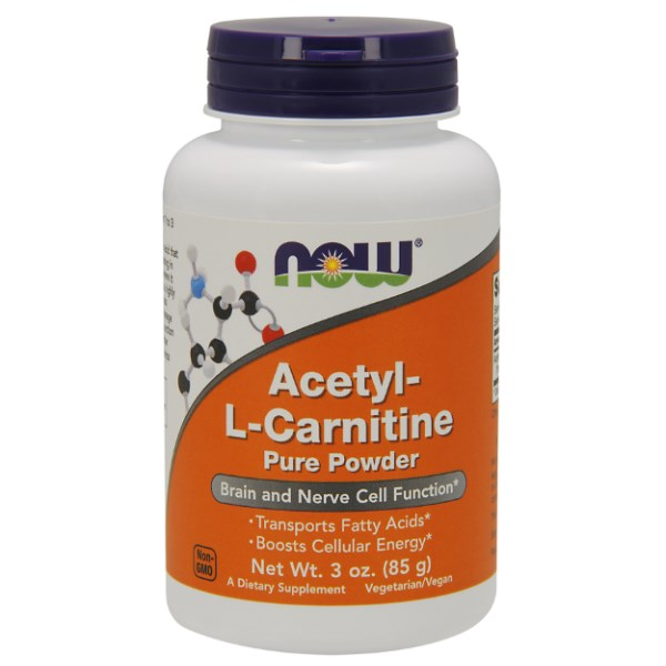 Now Foods Acetyl L-Carnitine Powder 85gr