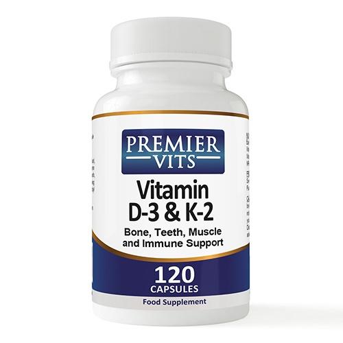 Βιταμίνη D3 & Βιταμίνη K2