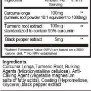 Κουρκουμάς και Κουρκουμίνη συστατικά