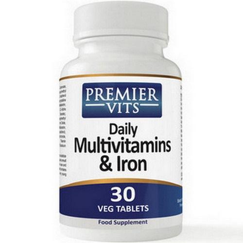 Premier Vits Multi Vitamin + Iron