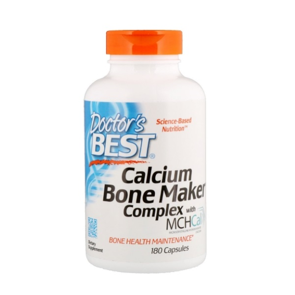 Doctor's Best Calcium Bone Maker Complex with MCH-Cal