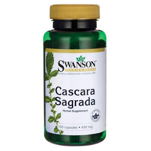 Swanson Cascara Sagrada 450mg