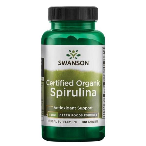 Swanson Certified Organic Spirulina