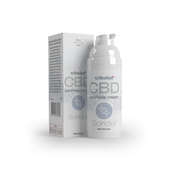 Cibdol  Soridol CBD cream 50ml
