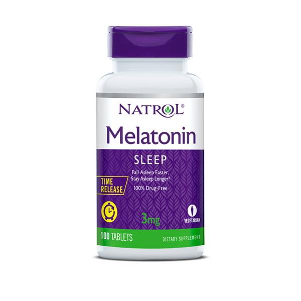 Natrol Melatonin Time Release 3mg x 100