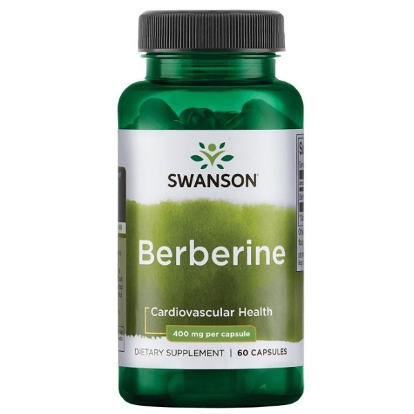 Swanson Berberine HCI 400mg
