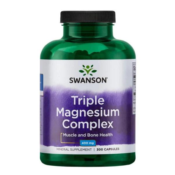 Swanson Triple Magnesium Complex 300 caps