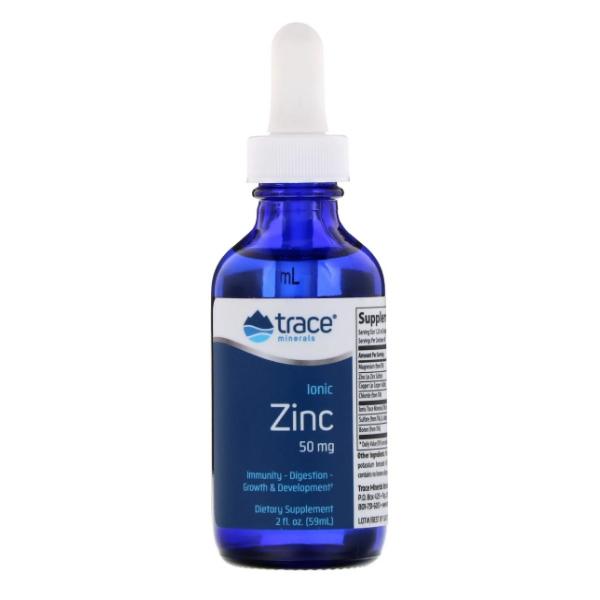 Trace Minerals Ionic Zinc 50mg