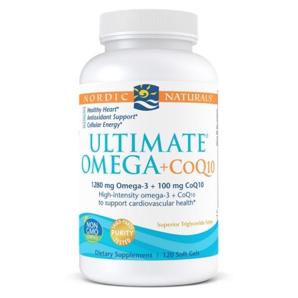 Nordic Naturals Ultimate Omega + CoQ10 x 120
