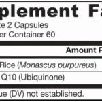 Jarrow Formulas Red Yeast Rice + CoQ10 x 120 ingredients