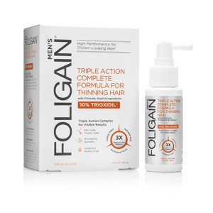 Triple Action Formula for Thinning Hair