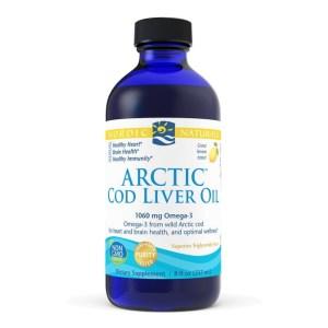 Arctic Cod Liver Oil Lemon