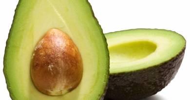 avokado, plodove