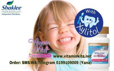 Vitalea Kanak-Kanak Ada Xylitol Untuk Gigi Sihat