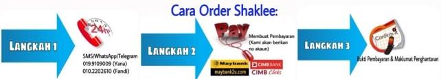 bagaimana nak order shaklee